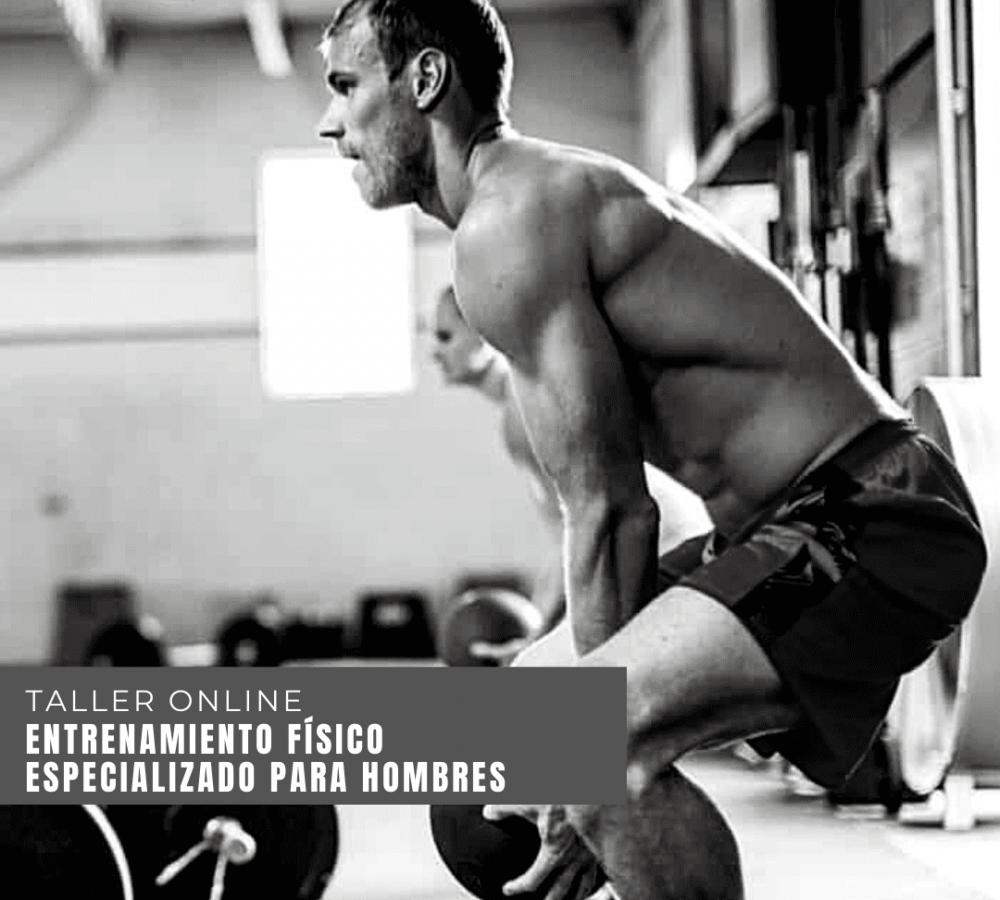 entrenamiento físico especializado para hombres